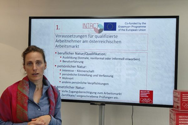 04 INTACT – Experience with language training qualification of refugees as skilled workers in Austria – Heidrun Birchler-Ripfel