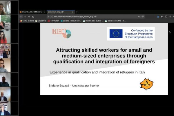 06 INTACT – Experience with the qualification and integration of refugees in Italy – Stefano Buzzati