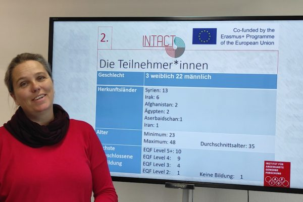 07 INTACT – Working with refugees and prospects of their integration in working life in Austria – Sophie Bernet