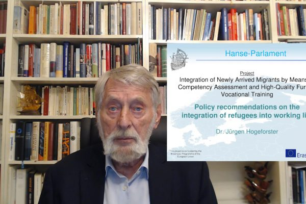 11 INTACT – Policy recommendations on the integration of refugees into working life – Juergen Hogeforster